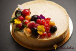 Cheese Cake With Fresh Fruit