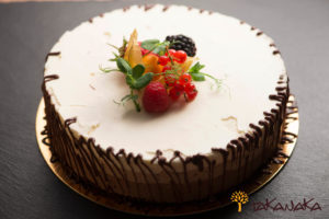 Trio Chocolate Mousse Cake